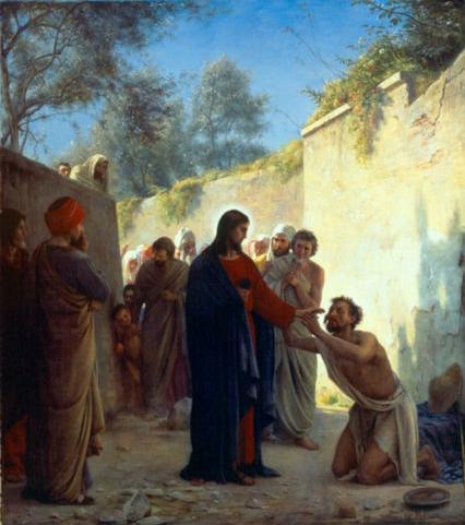 jesus healig