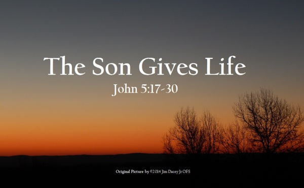 Image result for free photo of John 5:17-30